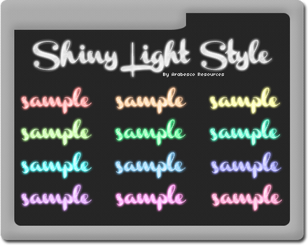 Shiny Light Style by Arabesco-Resources