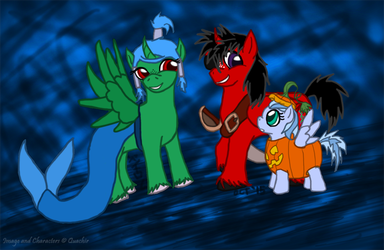 Nightmare Night Costumes by Quachir