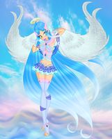 CE-Kailani Keix-between water Power and holy Magic by WildieWishingStar