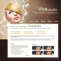 Viva-studio website by tysmin