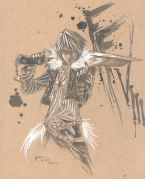 Squall Leonhart by Nick-Ian