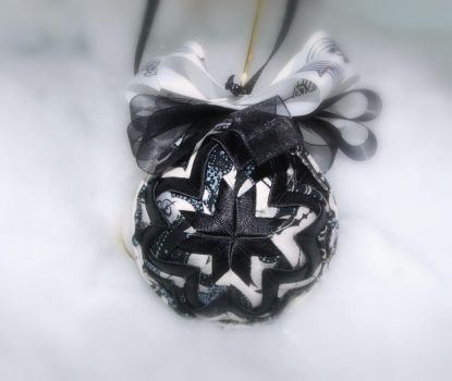 Face The Music handmade quilted ornament 2 by Chrissie1370