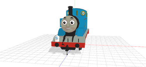 MMD Thomas The Tank Engine (DL) by MMDDashie