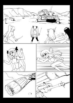 Practice Fighting, Practice Page by wbd