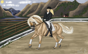 Norwegian International Equestrian Championship by xSapience