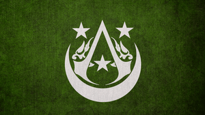 Assassin's Creed: Arabian Brotherhood Flag by okiir