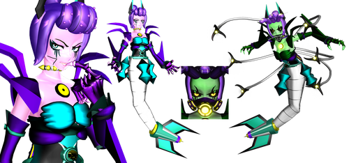 [MMD] Mecha Cala Maria (Cuphead) by DrStinger