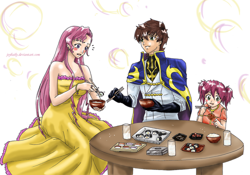 Comm:Lunch with the Kururugi's by JeyHaily