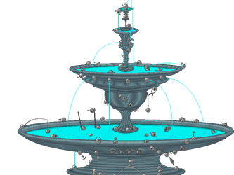 Emote fountain by CookiemagiK