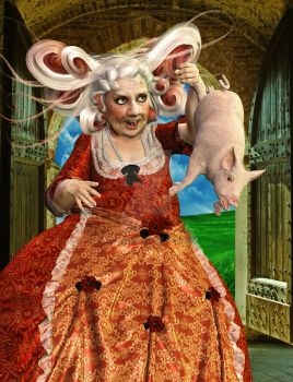 The Duchess and the Pig-Baby by Zoon3d
