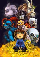 Undertale Poster by Spiccan