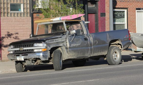 Montana pick-up truck by finhead4ever