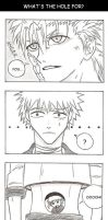 Bleach - What's the hole for? by Jeanne-chan