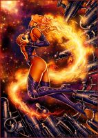 Starfire - color by Candra