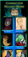 Character Recast: The Secret of NIMH (Fairy Tail) by Camilia-Chan