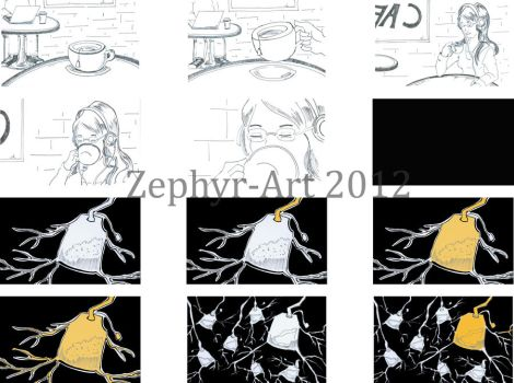 Tea Time Storyboard 1 by Zephyr-Art