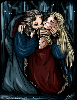 Hobbit - Barduil - Kiss of the Vampire by caycowa