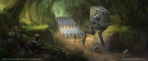 Star Wars: TCG - Forward Reconnaissance by AnthonyDevine