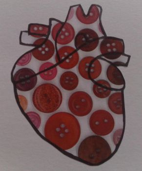 heart with buttons by miss-hummingbird