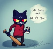 Mae - Night in the Woods by FoReal100
