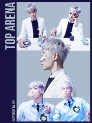 BIG BANG TOP ARENA 5P PNG by hyukhee05