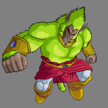 Broly Oozaru Legendary by Gokuten