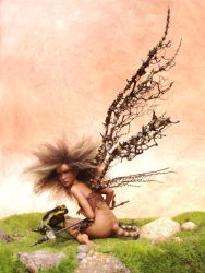 Poison - Faerie Art SCULPTURE by pixiwillow