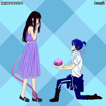 Collab: Happy birthday Hiyori! by LackadaisicalLeopah