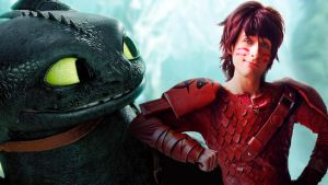 Hiccup Haddock and Toothless - Race to the Edge by AlexanDrake89
