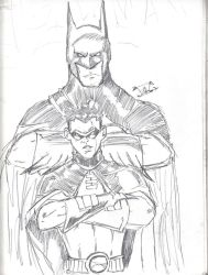 batman and robin by thEbrEEze