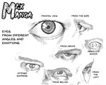 How Max Manga Draws Eyes - Eyes Tutorial by Max-Manga