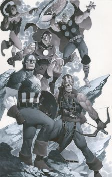 The Avengers by ChristopherStevens