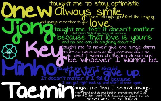 SHINee Has Taught Me... by Cafekko102