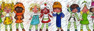 Strawberry Shortcake Gang by endisforever818