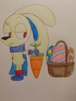 MMS: Happy Early Easter, Hoppus by Strongcheetah24