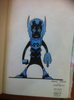 172-365 Blue Beetle by SFX92