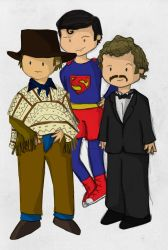 Gene, Chris and Ray by whosname