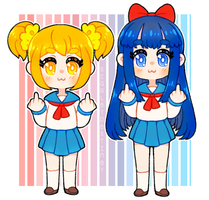 Pop Team Epic by ScarletDestiney