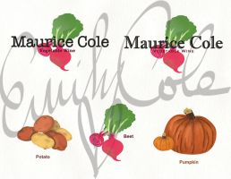 Rough Vegetable Wine Logos 1-Major Project by EmersonWolfe