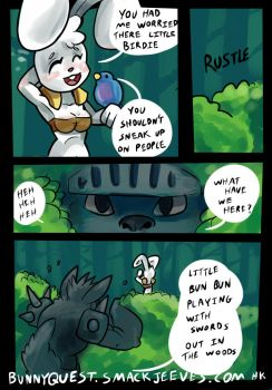 Bunnyquest4 by HotKibble