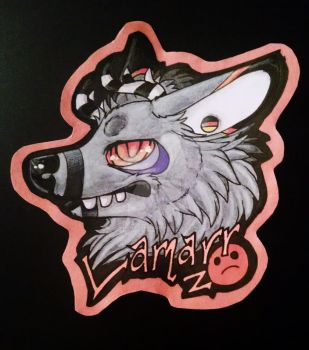 Lamarr Gift Badge by SafireCreations