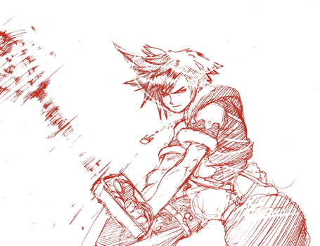 Sketch 1 -Sora- by raiijin