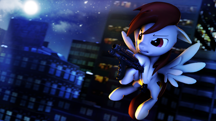 The midnight shootout by SourceRabbit