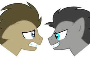 Two Sides of Doctor Whooves by horserida238
