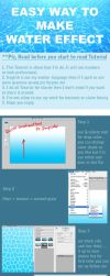 Easy way to make water -3- by pandabaka