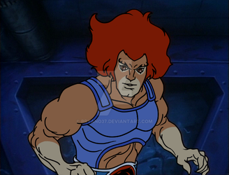 Lion-o Trapped Proper Eyebrows by Bryano37