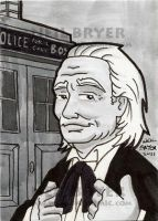 Doctor Who Sketch Cards 1 by WombatOne