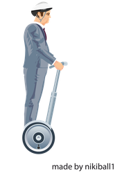 Happy Wheels Segway Guy by nikiball1