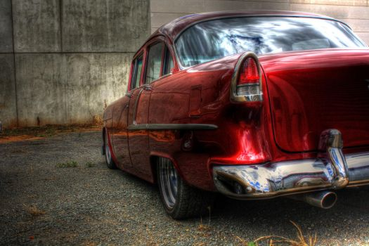 55 CHEV HDR by AaronKeithMyrtle