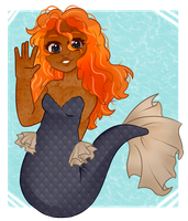 [Gift]: Mermaid gal by SimplyDefault